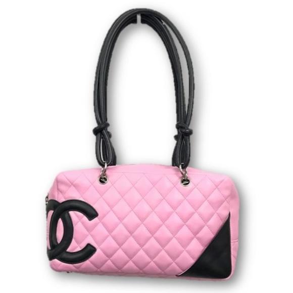 e9eeb2d7ba1e CHANEL Handbags - CHANEL Cambon Ligne Quilted Large Bowler Handbag